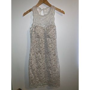 Dresses & Skirts - White lace crochet dress